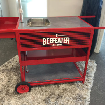 Beefeater cart 2